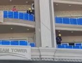 الحماية المدنية بالإسكندرية تنقذ قطا سقط من شرفة.. وصاحب البلاغ: مصر دى ولا أوروبا