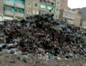 شكوى من تراكم القمامة واشتعالها فى أرض الشونة مدينة زفتى بالغربية