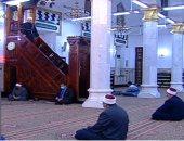 بث مباشر.. أول صلاة جمعة منذ إغلاق المساجد من مسجد السيدة نفيسة