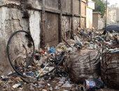 شكوى أهالى عرب الحصن من تراكم تلال القمامة في المطرية