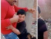 مشادة بين إيمان الحصرى وشقيق طفل ذو الاحتياجات لتبريره فيديو الترهيب باستخدام كلب