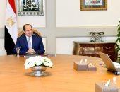 السيسى يوجه فى لقائه مع رئيس الوزراء ووزير الاتصالات باستمرار تطوير خدمات وبنية الإنترنت