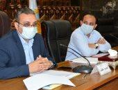 نائب محافظ الغربية والسكرتير العام يناقشان قرار وقف تراخيص البناء