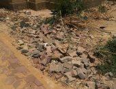 القمامة وعدم تواجد أغطية للبلاعات أبرز أزمات سكان منطقة الـ 70 متر فى الشروق