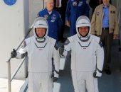 """""""سبيس إكس"""" و""""ناسا"""" ترسلان رائدى فضاء إلى المحطة الدولية من فلوريدا"""