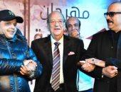 الظهور الأخير لحسن حسنى مع هنيدى ومحمد سعد .. ضحك وكلام من القلب