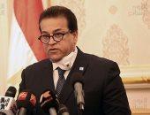 وزير التعليم العالى: مصر قد تكون تخطت ذروة كورونا وفى طريقها لانخفاض الإصابات