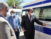 محافظ أسوان: 16 سيارة مخصصة لدفن المتوفين بفيروس كورونا .. صور