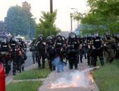 شرطة بورتلاند الأمريكية تعلن حدوث أعمال شغب فى احتجاج مرتبط بمقتل امرأة سوداء