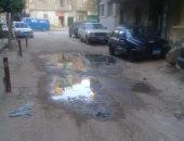 شكوى من غرق شارع مخلوف المتفرع من شارع ترعة عبد العال بالجيزة بمياه الصرف الصحى