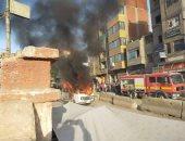 حفظ التحقيق في واقعة حريق مشتل بمدينة نصر لعدم وجود شبهة جنائية