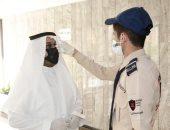 إجراءات احترازية صارمة فى أول يوم عمل بوزارة الرياضة السعودية.. صور