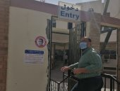 صور ..المصالح الحكومية بالبحر الأحمر تطبق قرار عدم الدخول إلا بارتداء الكمامة