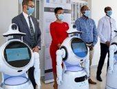 رواندا تستعين بروبوت لتقليل مخاطر الإصابة بفيروس كورونا