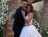 """شقيقه محمد رمضان بعد زفافها: """"إن شاء الله مع بعض العمر كله بحبك يا حس """""""