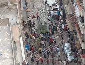 مصرع شخص سقطت عليه شرفة عقار شرق الإسكندرية