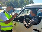 محافظ المنوفية: سحب 143 رخصة قيادة لعدم إرتداء الكمامات الطبية (صور)