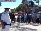 تحرير 9 محالفات لسائقين بموقف قرية إكياد بالشرقية لعدم ارتدائهم الكمامة