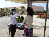 السياحة والآثار تكثف التفتيش على الفنادق بالعيد للتأكد من الإجراءات الاحترازية