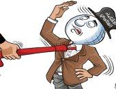 كاريكاتير صحيفة يسلط الضوء على الخسائر الاقتصادية للعالم بسبب كورونا