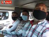 ضبط 5528 سائق لعدم إرتدائهم الكمامات تطبيقا للإجراءات الاحترازية