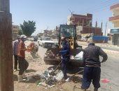 تنفيذ حملات نظافة وتعقيم بنطاق مركز بئر العبد فى شمال سيناء