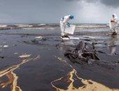 فيديو.. تسرب نفطى فى أحد أنهار روسيا وكارثة بيئية على المحك