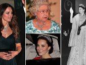 سلف من غير تلف.. 10 مرات تألقت كيت ميدلتون بمجوهرات مستعارة من الملكة