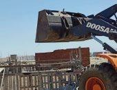 إيقاف 6 حالات بناء برأس البر تنفيذا لقرار وقف أعمال البناء