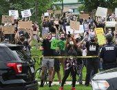 تجدد التظاهرات فى عدة مدن أمريكية احتجاجا على مقتل فلويد