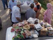 صور.. المنوفية تطلق مبادرة بالتعاون مع تجار الجملة لتوزيع وجبات على أسر العزل المنزلى
