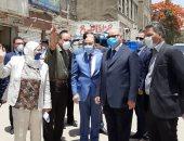 صور.. وزير التنمية المحلية ومحافظ القاهرة يتابعان حملة إزالة سوق السقط بالسيدة زينب