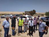 التجهيز لإنشاء محطة تحلية مياه ومزرعة سمكية لقرية الروضة بشمال سيناء