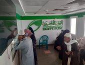 رئيس مدينة المحلة يتابع عمليات صرف المعاشات أمام البنوك ومكاتب البريد