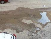 قارئ يشكو تراكم مياه الصرف الصحى فى أرض الجمعيات بالاسماعيلية