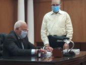 فيديو.. محافظ بورسعيد يعتمد نتيجة الشهادة الإعدادية بنسبة 99.26 %