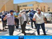 محافظ جنوب سيناء يتفقد الأعمال الإنشائية بجامعة الملك سلمان