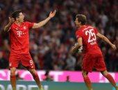 مولر يضيف ثانى أهداف البايرن ضد دورتموند فى الدقيقة 32 بالسوبر الألمانى