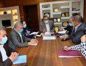نائب محافظ الغربية: دراسة توصيل المرافق لسكان منطقة الغفران بطنطا