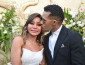 """شقيقة محمد رمضان بعد السخرية من صور زفافها: """"مش لازم تأذوا حد بكلامكم"""""""