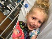 طفلة 5 سنوات تقاتل من أجل الحياة لإصابتها بمرض نادر بعد تشخيصها بكورونا