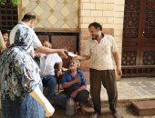 صور.. شباب بنى سويف يطلقون مبادرة لتوزيع الكمامات على المنازل