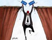 كاريكاتير صحيفة إماراتية.. لبنان بين مطرقة الاقتصاد وسندان السياسية