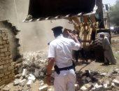 محافظ سوهاج : إزالة 40 حالة تعدى على الأراضى الزراعية ومخالفات البناء