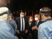 محافظ الجيزة يتفقد مستشفى أبو النمرس لمتابعة تقديم الخدمة الطبية للمرضى