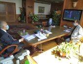 وزير الرى يعقد اجتماعا للوقوف على آخر مستجدات مشروع قناطر ديروط