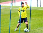 تعرف على طبيعة إصابة ميسي قبل مباراة برشلونة ضد ريال مايوركا
