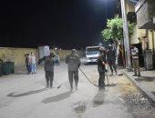 رئيس مدينة الأقصر : مواصلة تنفيذ حملات النظافة بشارع أحمد عرابى بحى جنوب