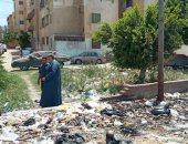 اضبط مخالفة.. انتشار القمامة ينذر بكارثة بيئية فى ظل انتشار كورونا بالمحلة.. صور