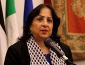وزيرة الصحة الفلسطينية تشيد بالدعم المصرى والمساعدات الطبية
